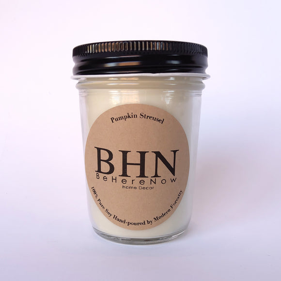Pumpkin Streusel BHN Soy Candle