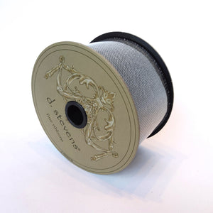 Black/Cream Tweed Ribbon