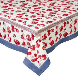 "Cherry Blossom Tablecloth 59"" x 59"""