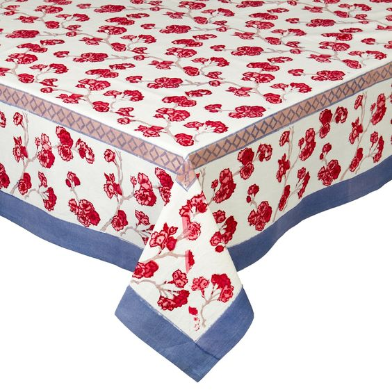 Cherry Blossom Tablecloth 59