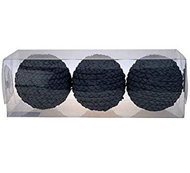 Rattan Orb Set of 3