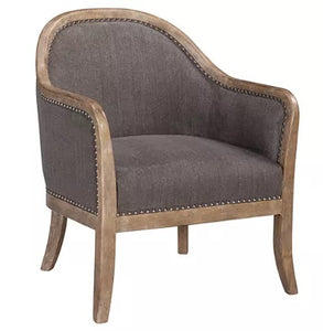 Nailhead Accent Chair