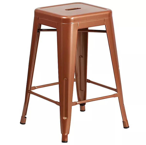 Copper Counter Stool