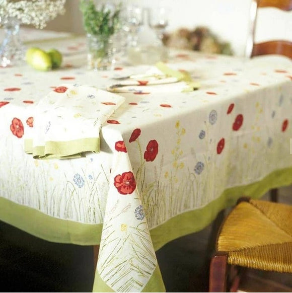 Spring Fields Tablecloth