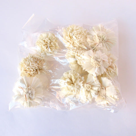 Bag of Mini Paper Flowers