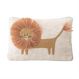 Lion Corduroy Pillow
