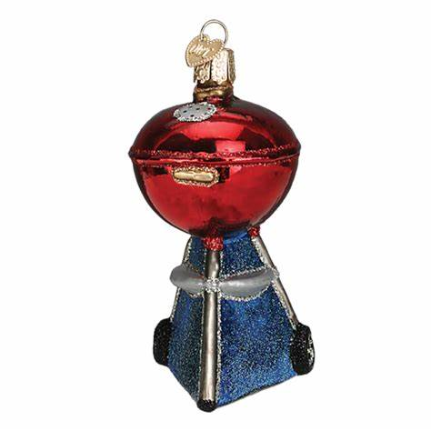 Barbecue Grill Christmas Ornament