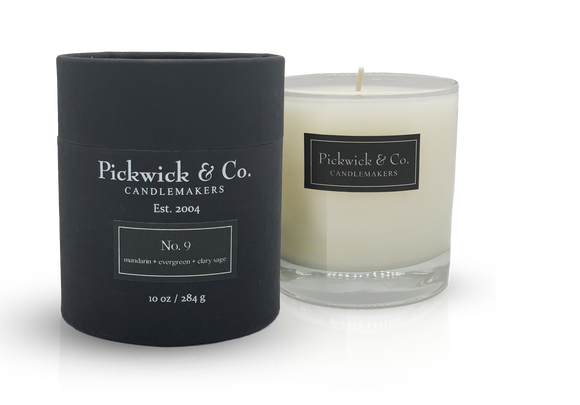 Pickwick & Co. No. 9 Candle