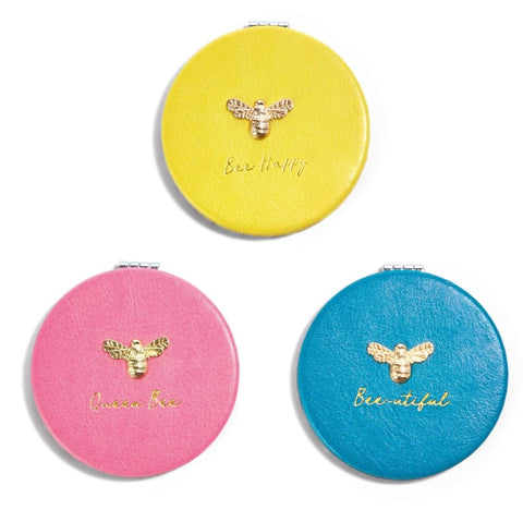 Bee-dazzled Compact Mirror