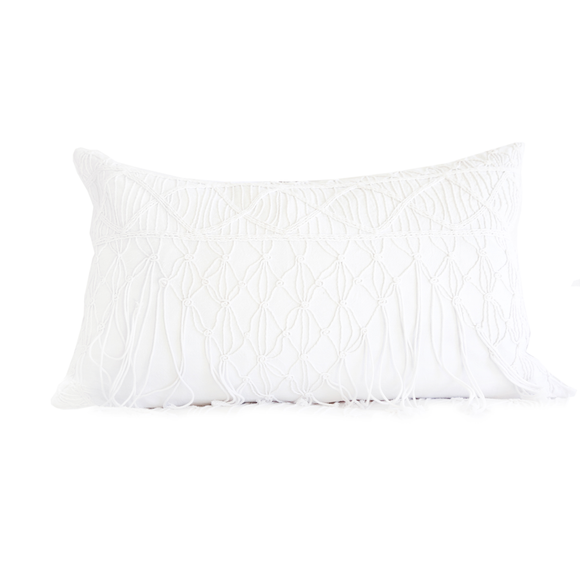 Zoe Fringe Pillow