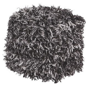 Gelsey Shaggy Pouf