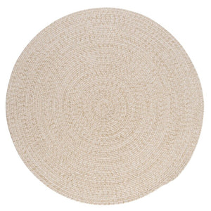 Braided Wool Round  Rug