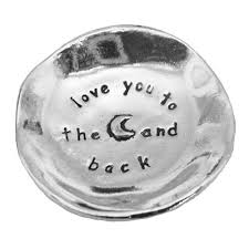 Moon and Back Charm Bowl