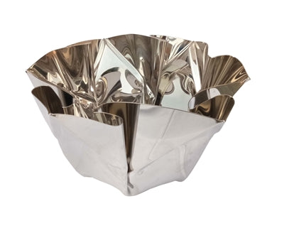 Polished Stainless Steel Bowl