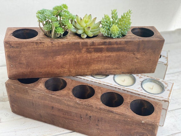Rustic Cheese Mold - 5 Hole