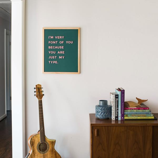 Magnetic Letter Board (17 x 21)