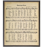 Sheet Music Framed Art/L