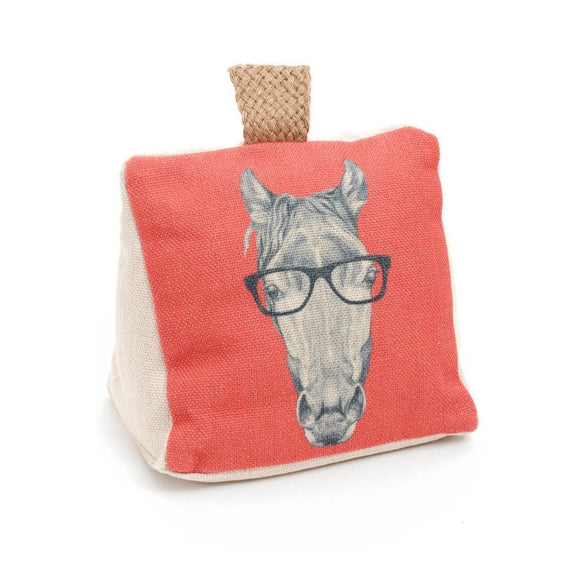Canvas Horse Doorstop