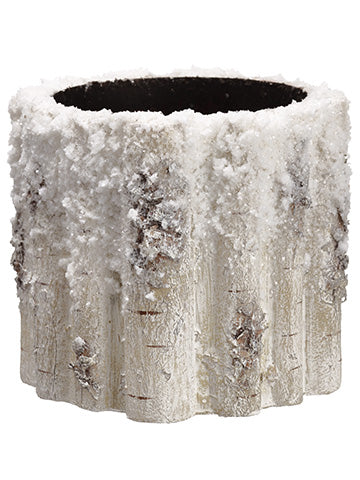 Faux Birch Container