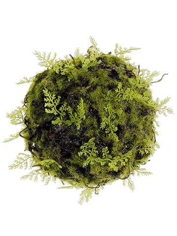 Moss and Fern Decorative Ball.