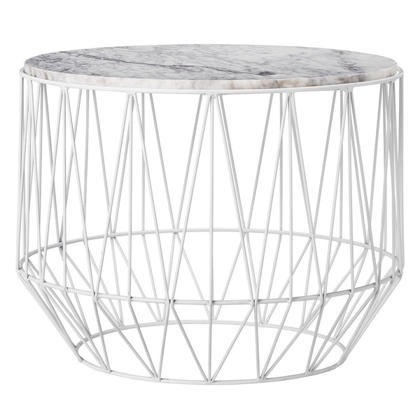 Round Metal/Marble Table