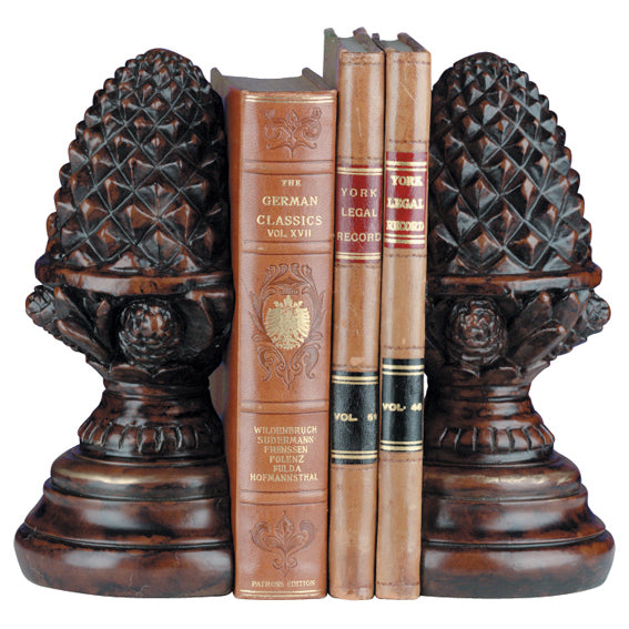 Bookends Pinecone