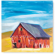 The Red Barn Giclee