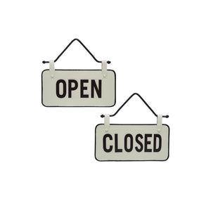 Small Open/Close Sign