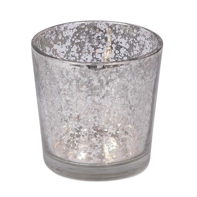 Flecked Glass Votive Holder