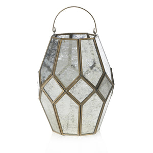 Mercury Glass Lantern