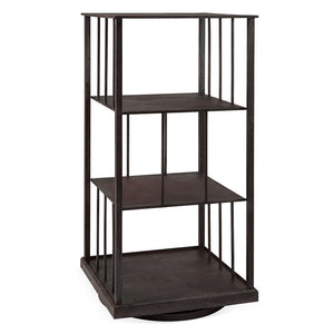Revolving Iron Bookcase
