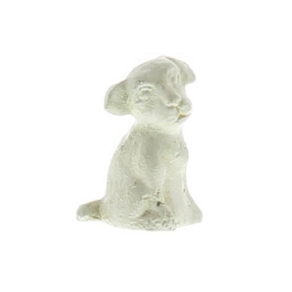 Cast Iron Dog Figurine.