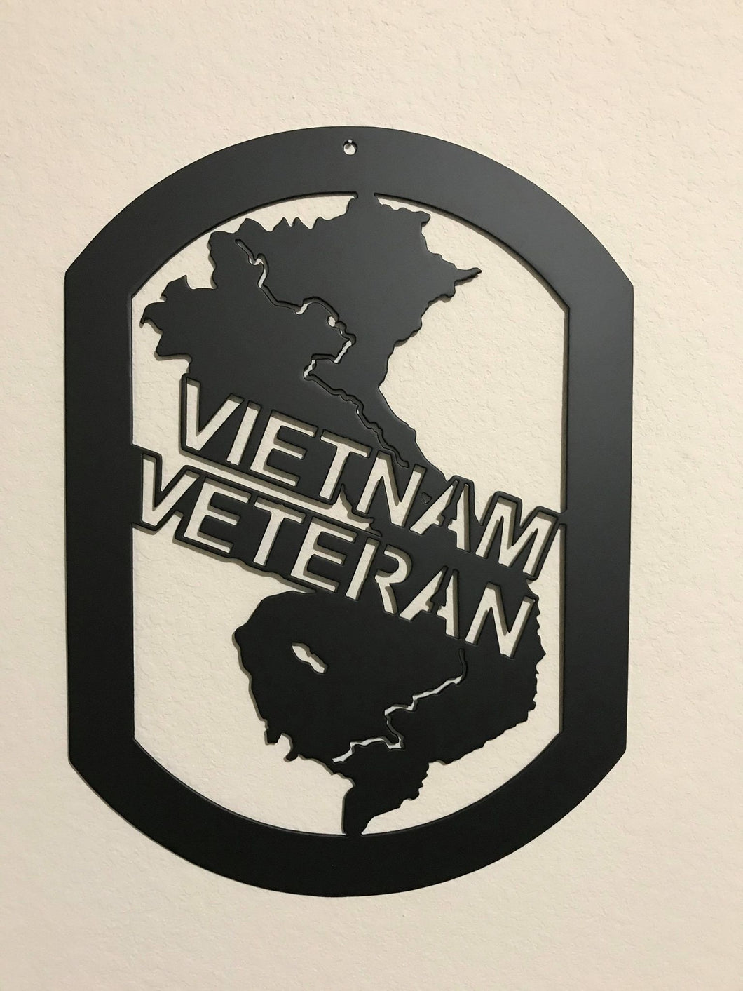 Vietnam Veteran Combat Shield™ Wall Display