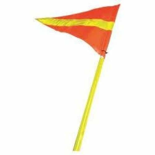 2 Piece Complete Buggy Whip C/W Sleeve and Flag  - Safety Mo