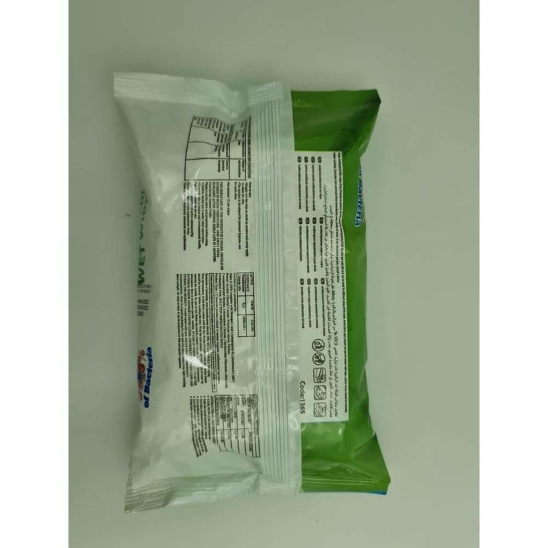 Anti Bacterial Wet Wipes 72 - Safety Mo