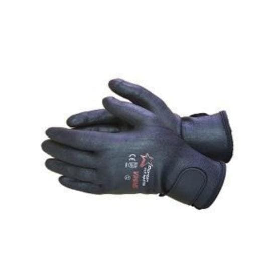 Cut Master Viking Glove Cut LV3 Full Nitirle Coated with Velcro Cuff - Safety Mo