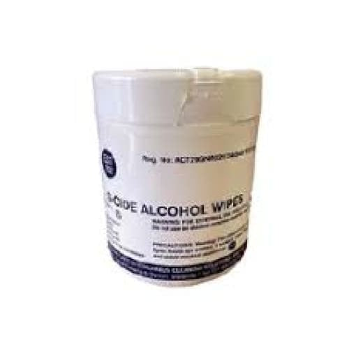 G - Cide 70% Alcohol Wipes 100s - Safety Mo