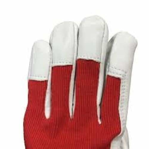 Goat Skin with cotton back glove - Safety Mo