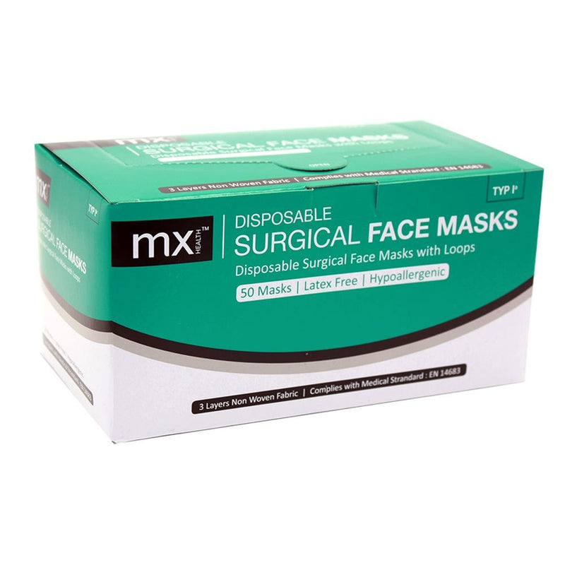 mx™ Disposable Surgical Mask Type I