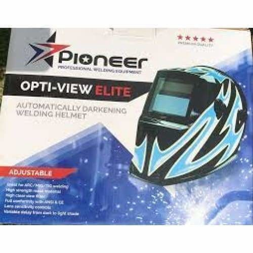 Opti view Elte adjustable helmet Candy red and blue - Safety Mo