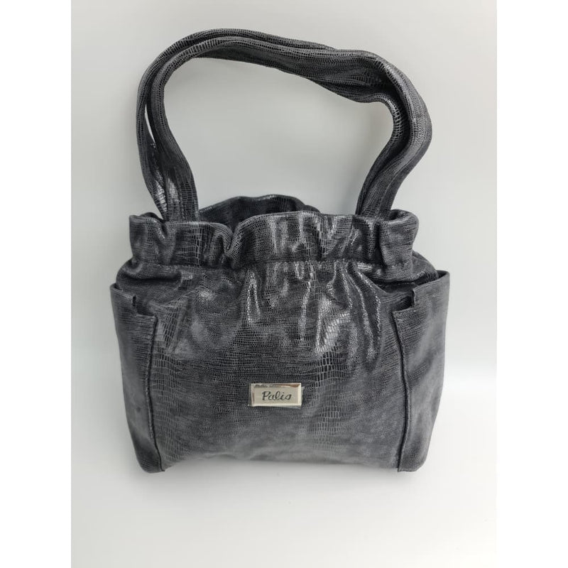 Palio (ITALY) Grey Glitter hand bag - Safety Mo