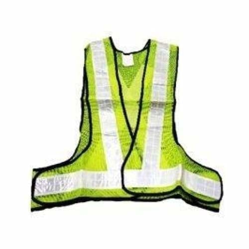 Pioneer lime reflective bib - Safety Mo