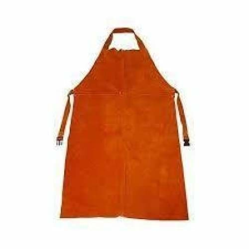 Pioneer yellow leather welding apron 120 x 65 premium - Safety Mo