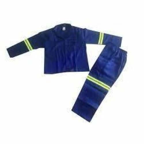Royal blue conti suits poly cotton 80/20 with reflective tape - Safety Mo