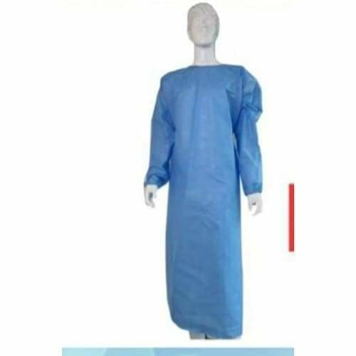 Surgical Disposable Gown 50gsm Standard - free Size