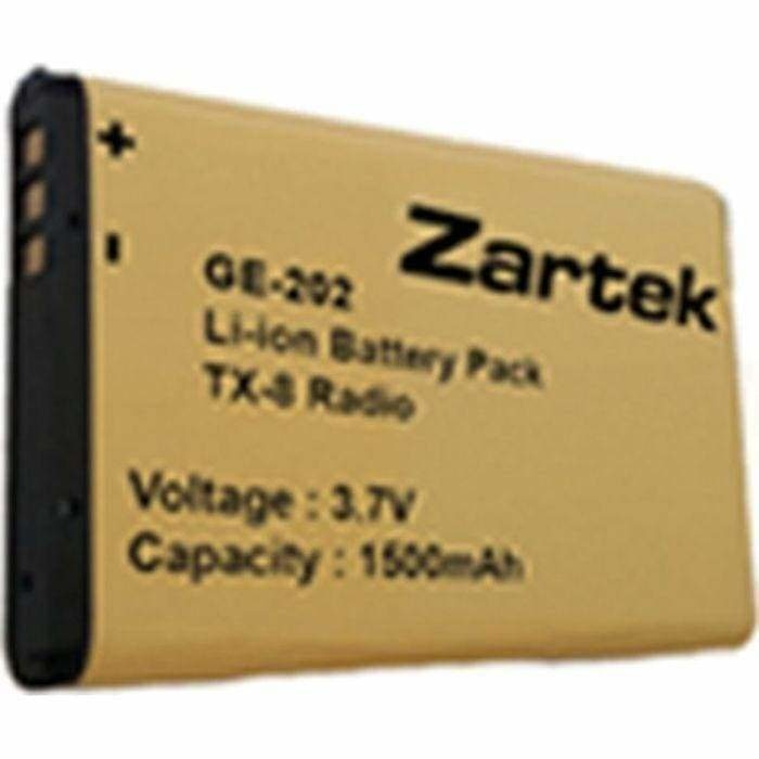 TX-8 Spare Li-ion battery pack 3.7V 1500mAH GE-202 - Safety Mo