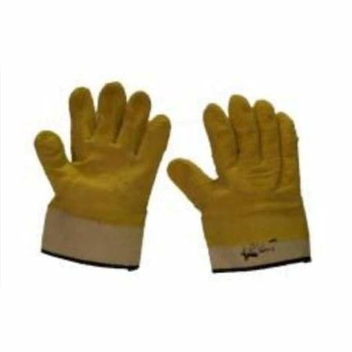 Yellow comarex extra heavy duty glove - Safety Mo