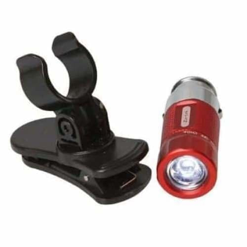 Zartek 12v rech.mini LED torch,35lm With magnetic clip,Avail
