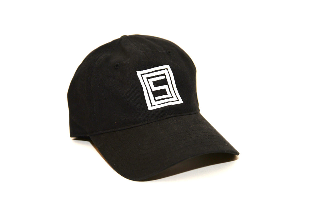 Squared Up OOS Dad Hat - Black