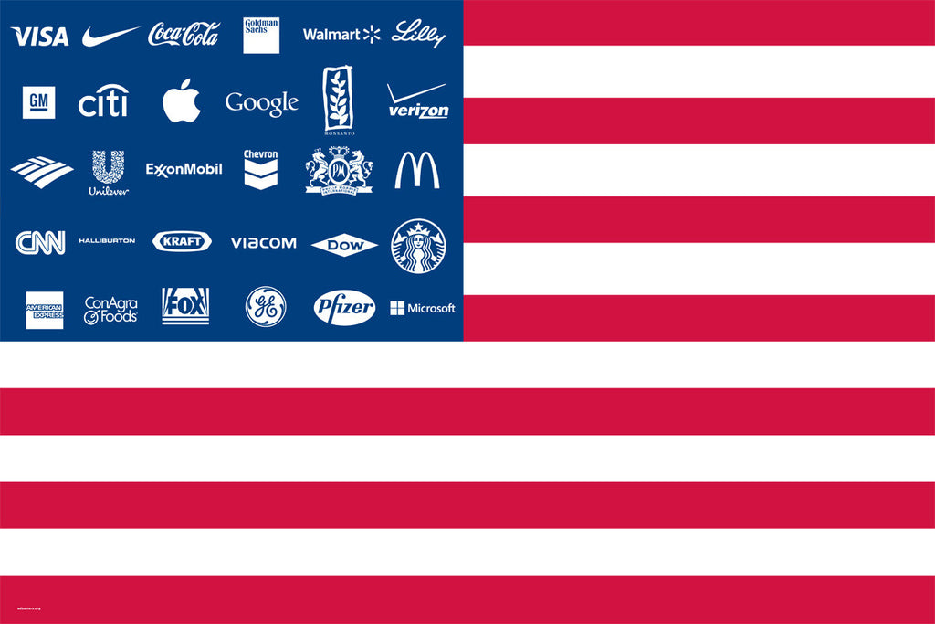 fefc27a6dc9a Corporate America Flag – Adbusters Media Foundation